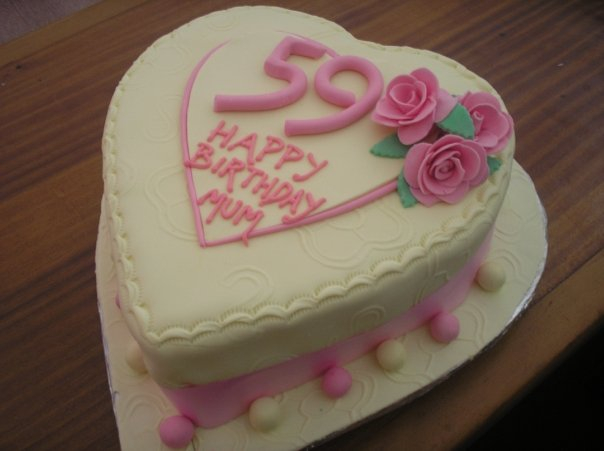 Heart Shaped Cake for mum(SP033)